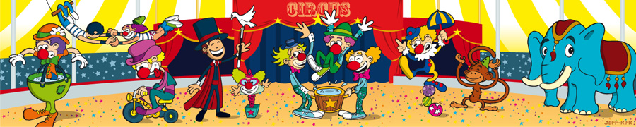 Décor cirque