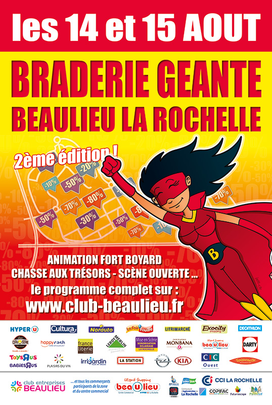 Super Braderie de Beaulieu 2014