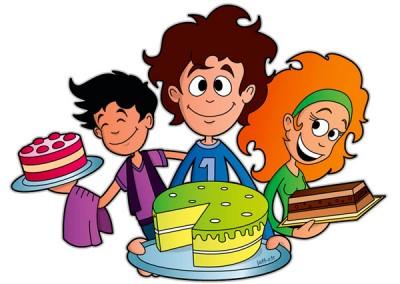 Vente de gâteau